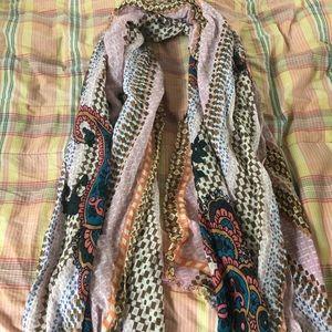 J. Crew printed scarf